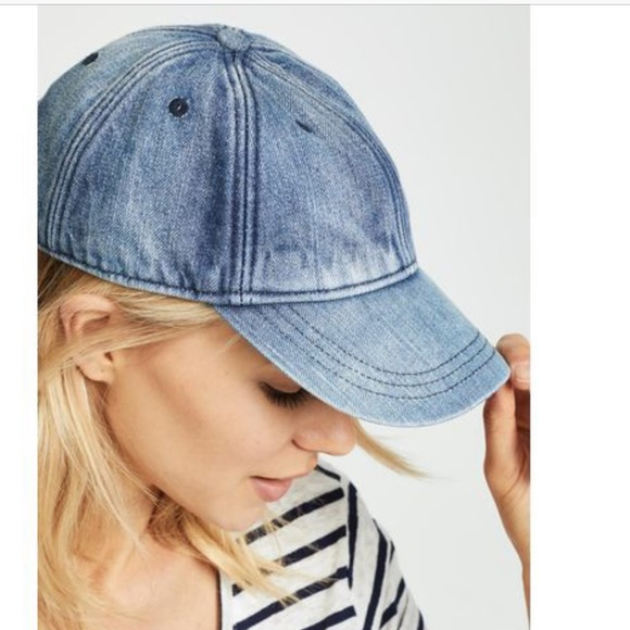 MADEWELL Denim Baseball Cap -new with tags- 022f900bd22a